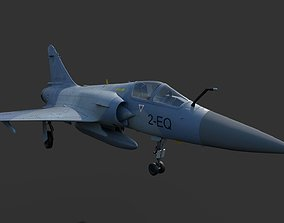 MIRAGE 2000 5-F Fighter plane 3D model