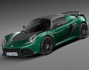 3D model Lotus Exige Sport 350 2016