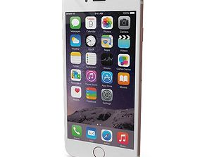 3D asset Apple iPhone 6s Rose Gold