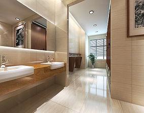 Toilet work 3D model