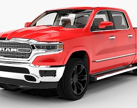 3D chevrolet Dodge Ram 2019 Limited