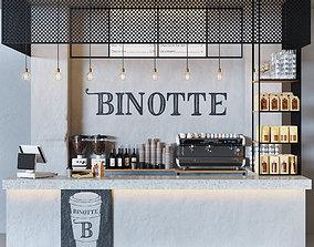 3D model Cafe Binotte