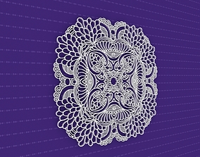 Mandala 3D model architectural yoga
