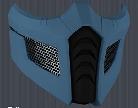 3D print model Sub-Zero Bi-Han Mask MK 9 STL File