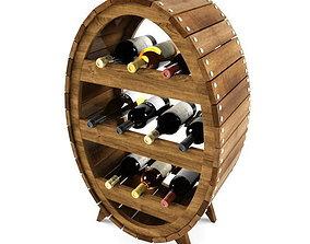 3D Wine shelf