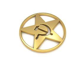 Communism Symbol moscow 3D model