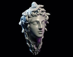 3D printable model Medusa gorgon jewelry pendant