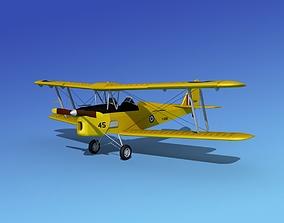 3D Dehavilland DH82 Tiger Moth RAAF