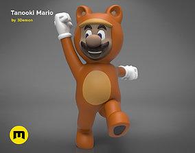 3D print model Tanooki Mario
