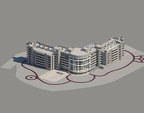 Rest Home Revit Design Project 2017 3D