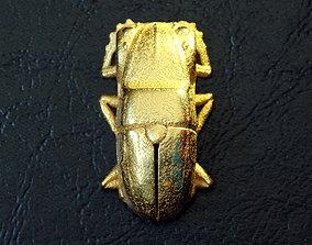 3D printable model VW Beetle Scarab Pendant