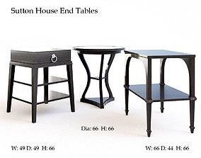 3D Bernhardt Sutton House End tables vintage