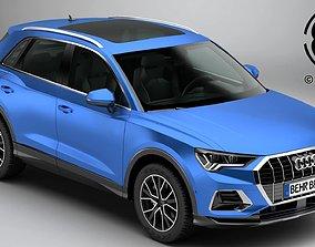 3D model Audi Q3 2019