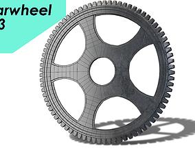 3D model gearwheel0003