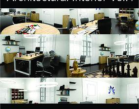 Office Architectural Interior Vol 1 3D model