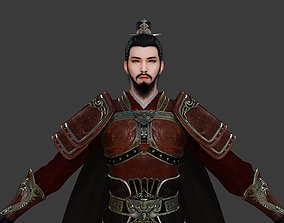 3D asset General of Ancient China Ancient Chinese Armor 1