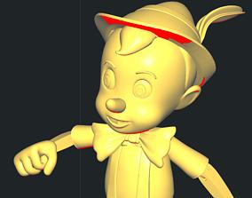 3D printable model Pinocchio