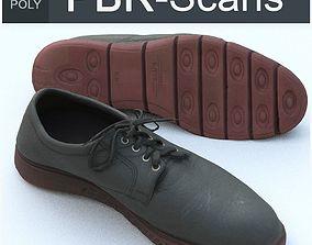 Shoe Middle Poly 3D
