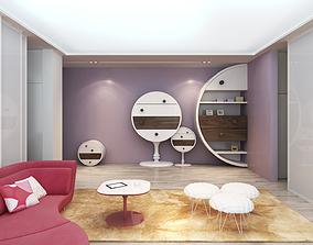 3D Playing Room for Girls
