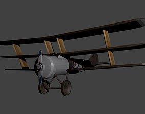 Triplane airplane 3D asset