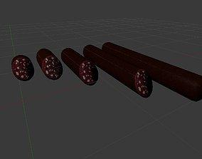 Sousage salami compilation 5in1 3D model