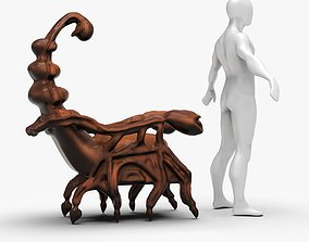 Scorpion Chair Sculpting 3D asset