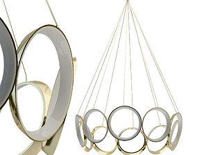 3D model Chandelier Filament Lighting CH94824-AN