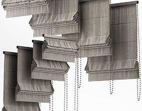 Curtains 21 Blinds 3D model