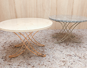 Table for 2 - X foot High Quality - 3D models