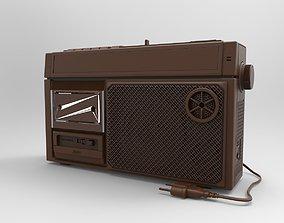 mini radio 3D print model