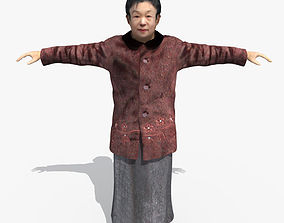 3D Asian Woman 01