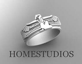 RING ISIS and the scarab 3D print model