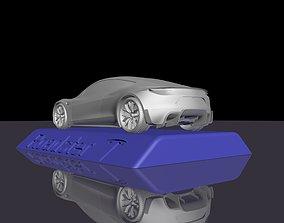 race TESLA ROADSTER 2020 FOR 3D PRINTING STL FILES