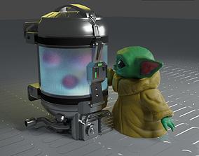 Baby Yoda - Grogu 3D printable model