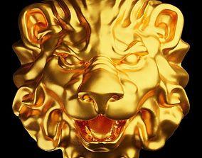 Lion head printable lion