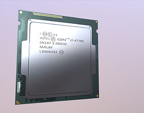 3D model Intel Core i7 4770K Game