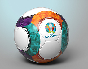 3D asset Euro 2020 Official Match Ball