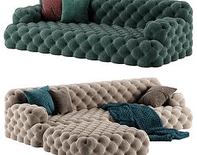 3D model Meridiani Norton sofa