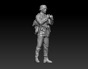 3D print model German officer