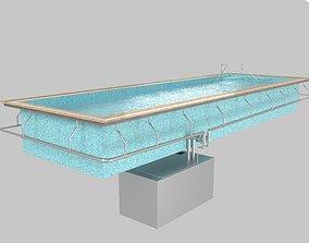 Swimming Pool water 3D