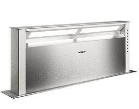 Gaggenau AL400191 table ventilation from 400 3D model
