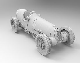 Alfa Romeo 1936 3D printable model