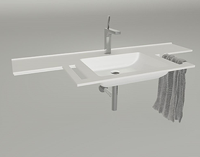 3D Varicor agilo Bathroom sink