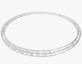 Circle Square Truss - Full diameter 800cm 3D