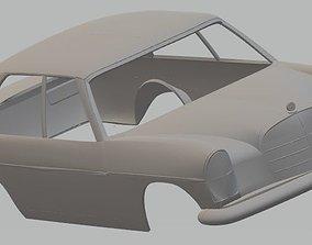 Mercedes 280 SE AMG Printable Body Car