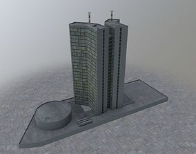 Moscow Town Hall 3D model
