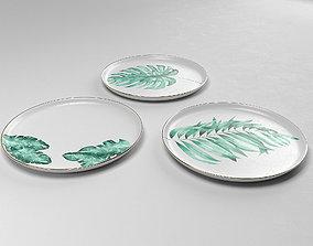 Tropical Set Plates 3D