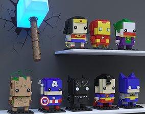 3D model LEGO BrickHeadz