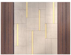 Decor wood Panel 30 3D model
