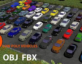 TOP EUROPEAN CARS 3D model game-ready
